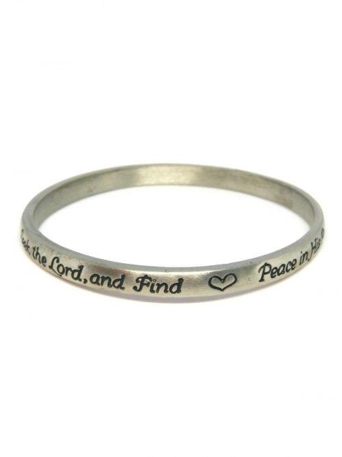 scripture bracelet hope in his promise