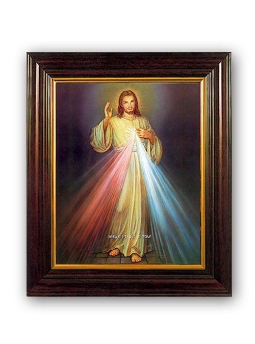Divine Mercy Mahogany