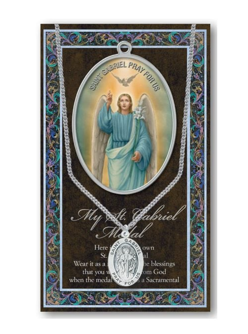 ST PHILOMENA MEDAL AND BIOGRAPHY CARD IN A PLASTIC KEEPSAKE WALLET OTHERS LISTED