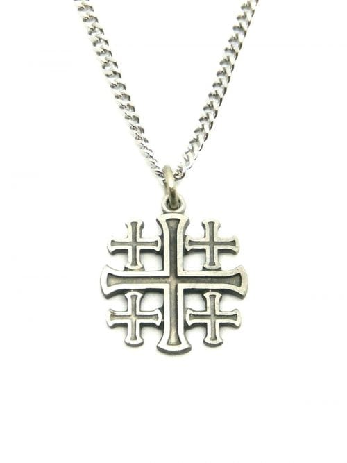 Jerusalem Cross and Chain