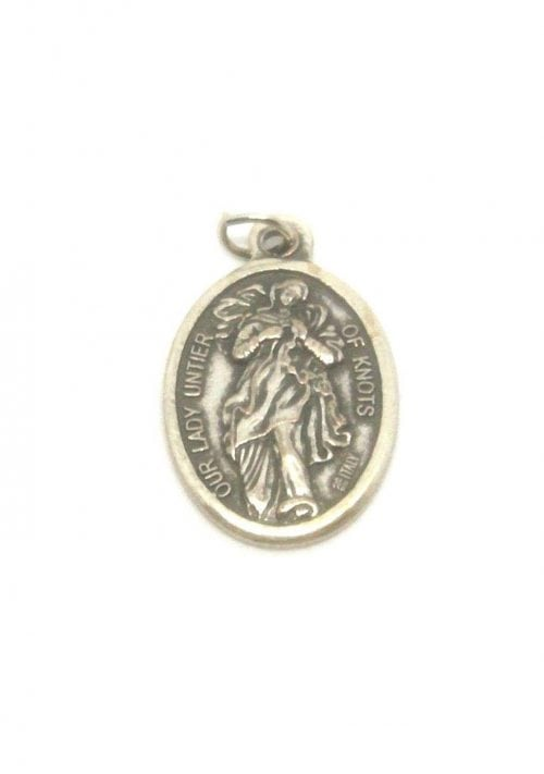 our lady untier of knots medal