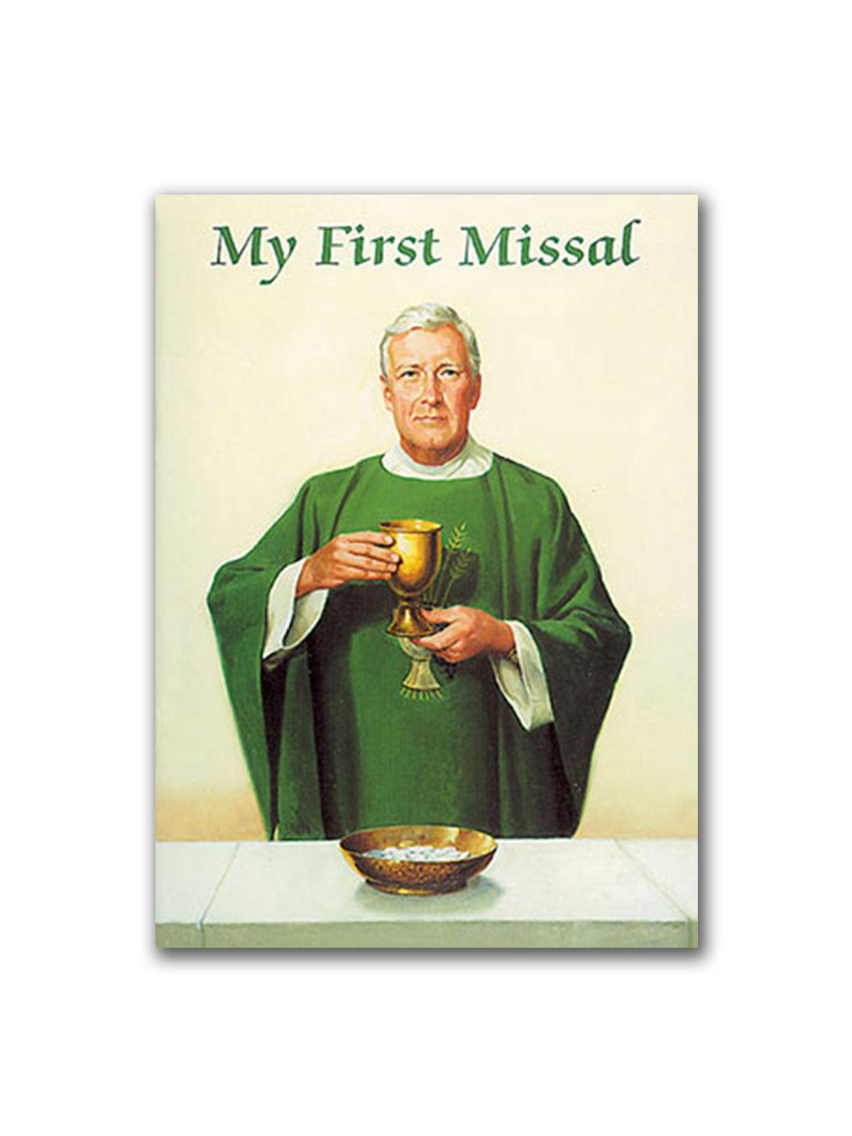 ... Communion/My First Missal Catholic Classics. ; 