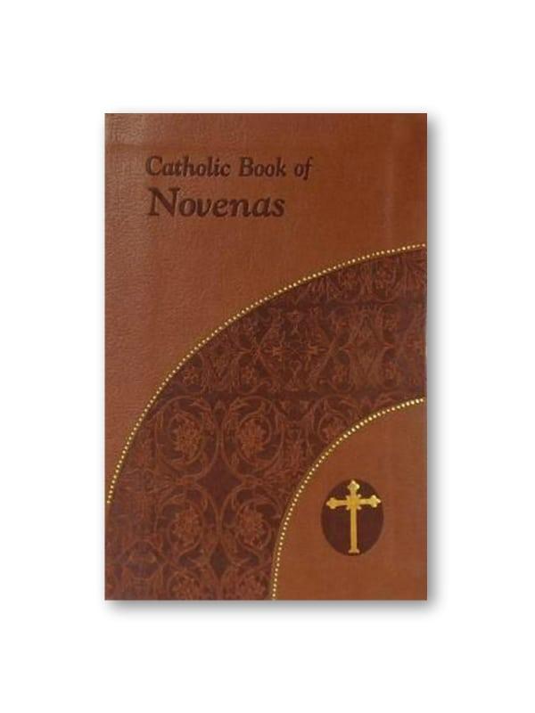 Catholic Novenas in luxury binding