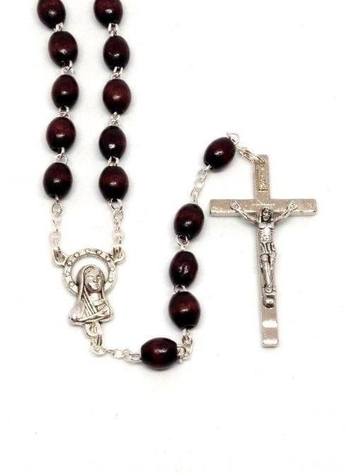 dark brown rosary