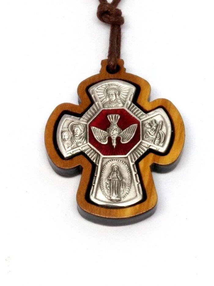 Four way cross cruciform