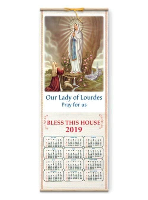 Our Lady of Lourdes Calendar