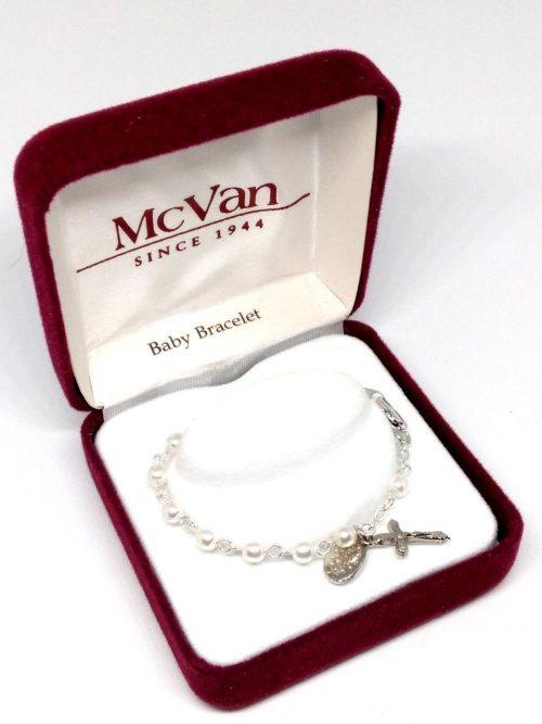 Baby Baptism Bracelet