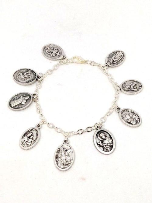 medal bracelet
