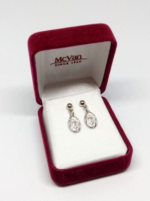 Miraculous Medal Earrings
