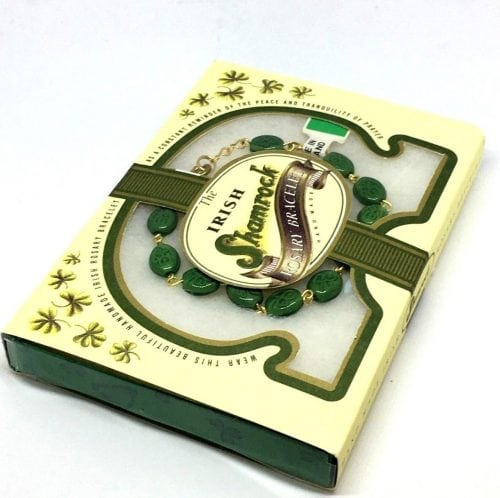 Irish Shamrock Rosary Bracelet