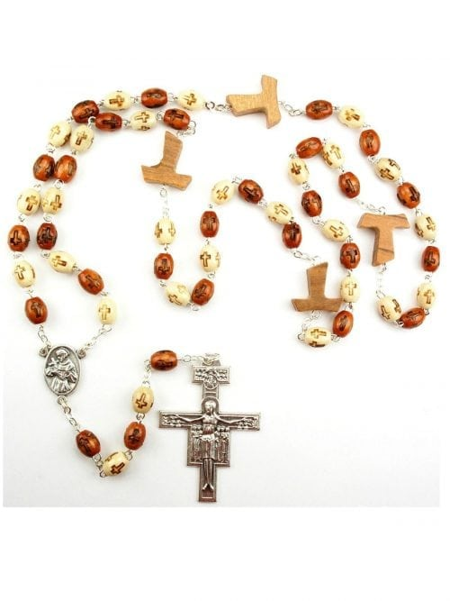 Tau Cross Rosary