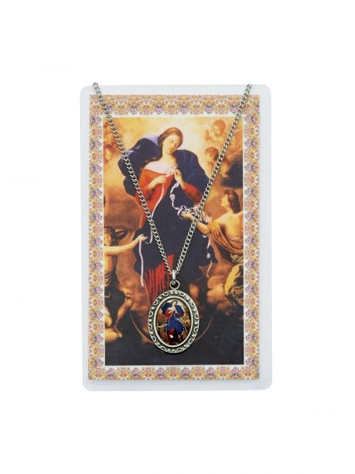Our Lady Untier of Knots Pendant