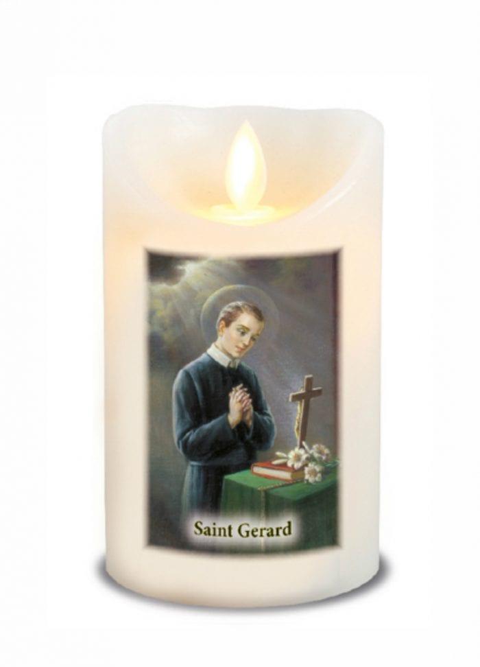 St Gerard LED Candle