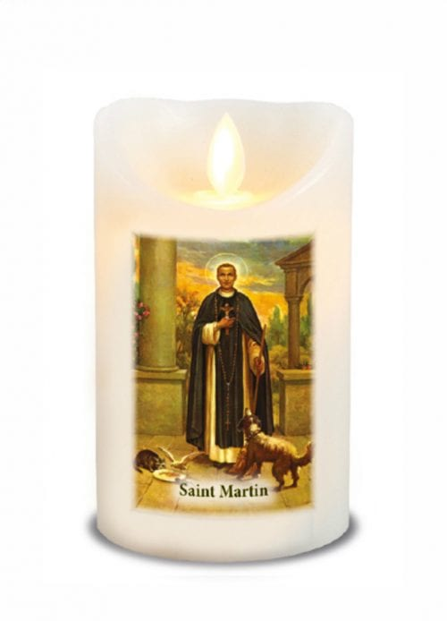 St Martin LED Candle