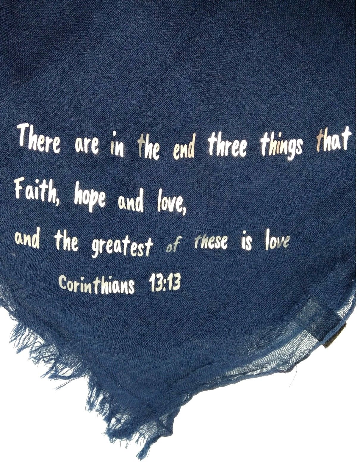 Biblical Scripture Scarf