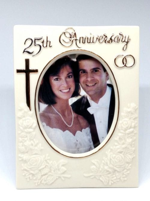 25th Wedding anniversary frame