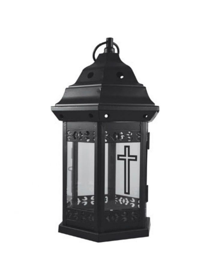 metal grave lantern