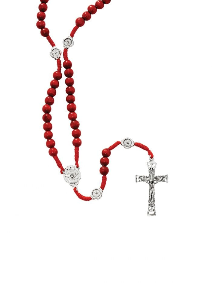 Confirmation rosary beads