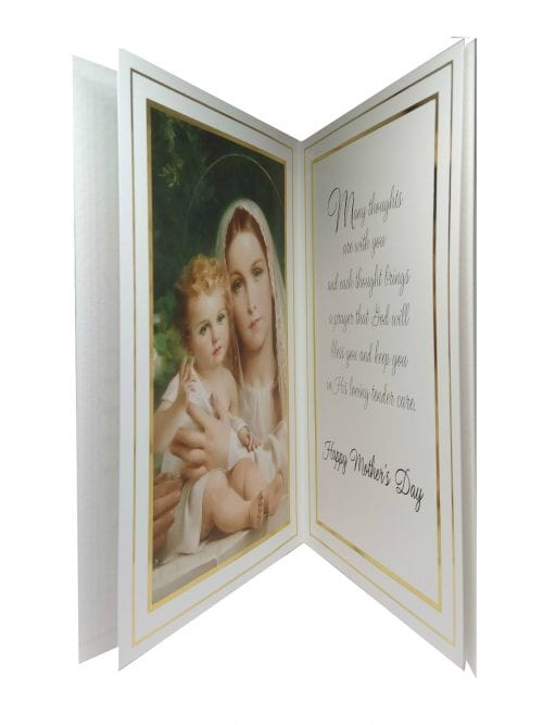 Catholic Mothers Day Card