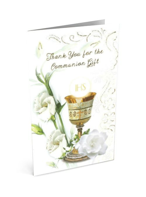 First Holy Communion Thank You Card