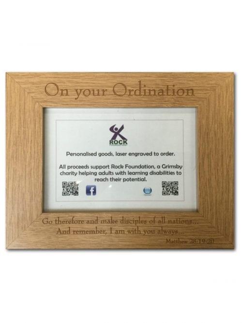 Ordination Photo Frame