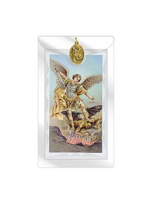 St Michael Prayer Card
