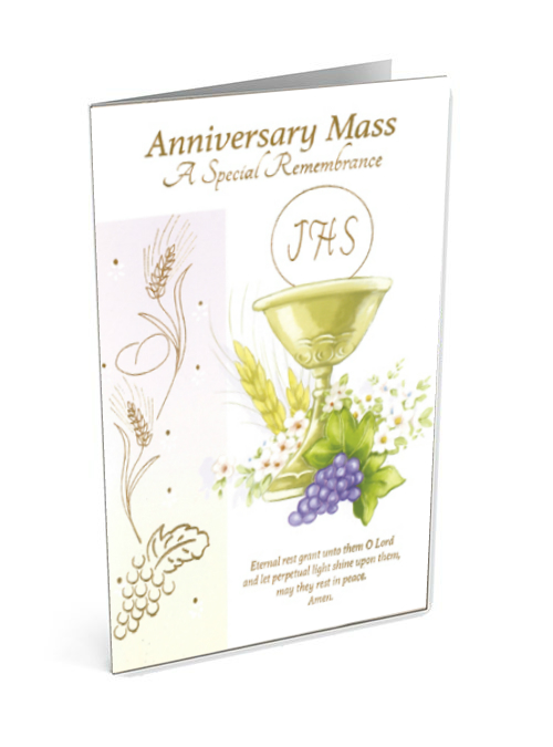 Anniversary Mass Card