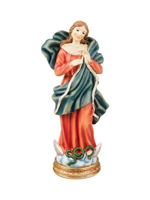 Our Lady Uniter of Knots figure
