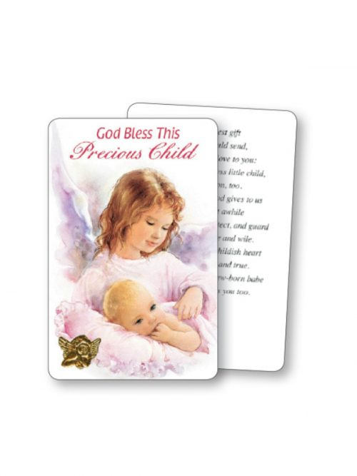 God Bless This Child Prayer Card