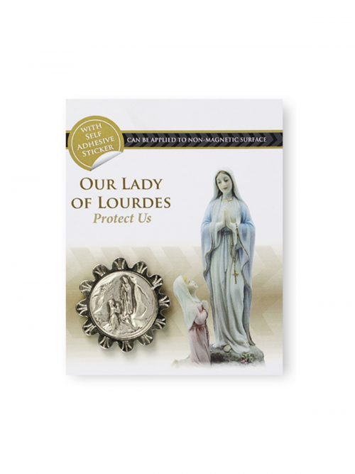 Our Lady of Lourdes Car Token