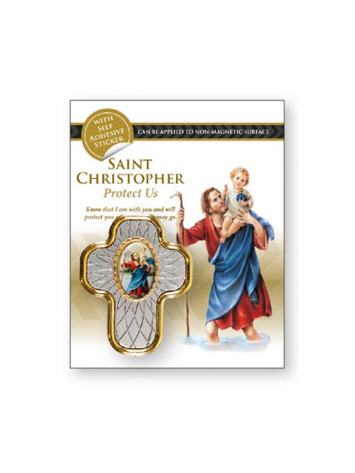 St Christopher Cross for Car