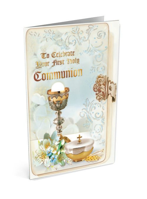 First Holy Communion Chalice Card