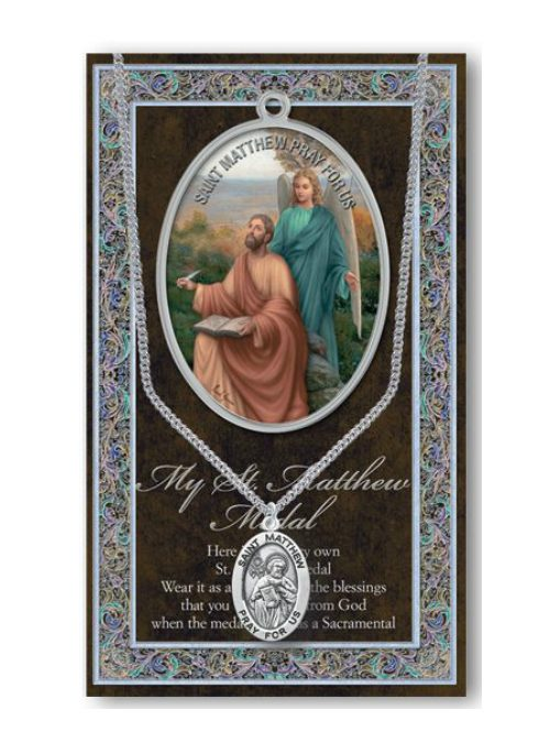 St Matthew Medal and Chain