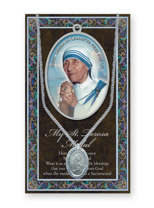St Mother Teresa Chain and Medal