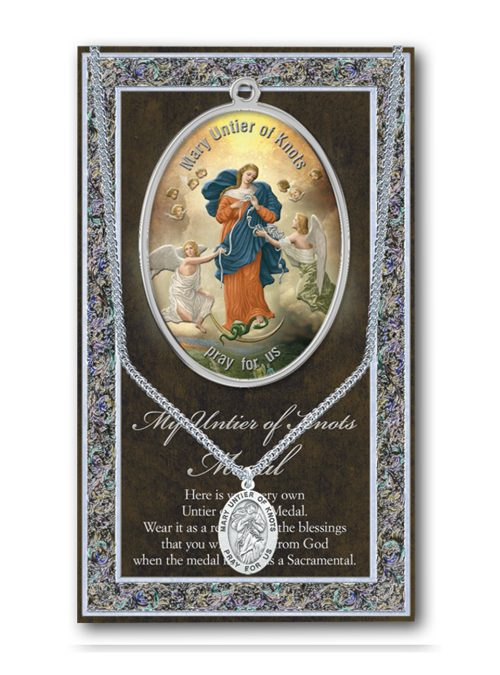Mary Untier of Knots Medal