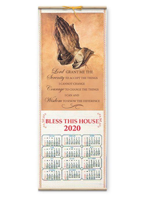 Serenity Prayer Calendar 2020