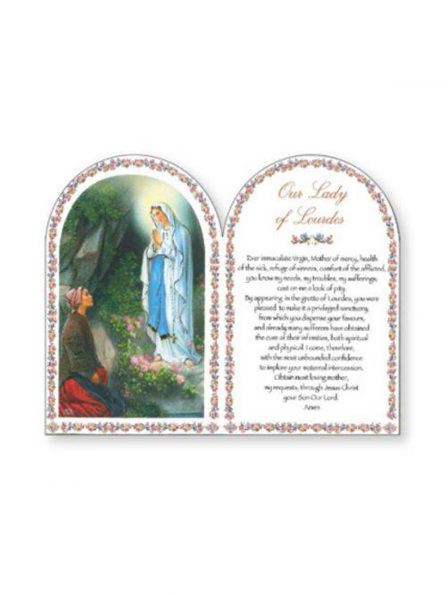 Our Lady of Lourdes Plaque