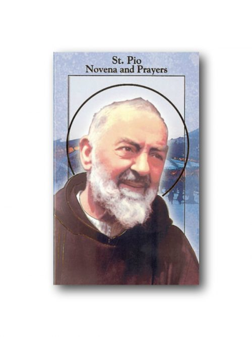 St Padre Pio Novena and Prayer Book