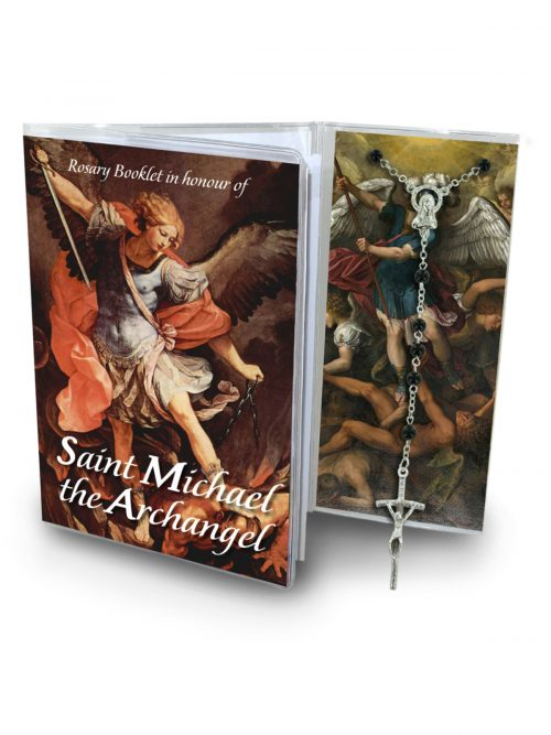 St Michael the Archangel Rosary Set