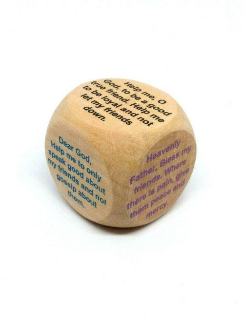 Friendship Prayer Cube