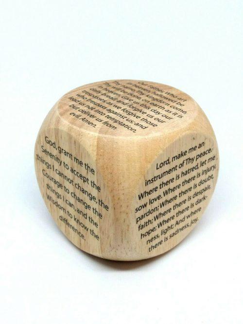 Large Prayer Cube