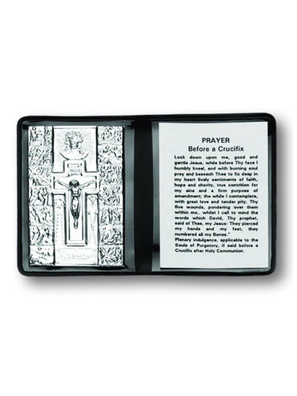 Stations of the Cross Pocket Plaque