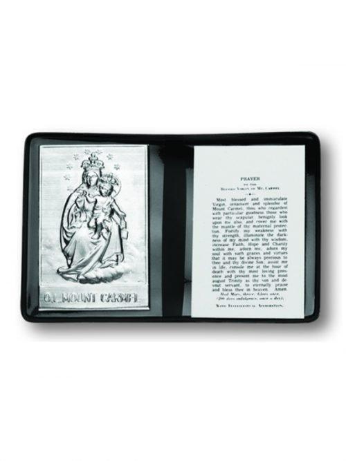 Our Lady of Mount Carmel Pocket Plaque