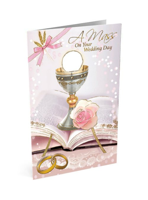 Mass Card for your wedding day