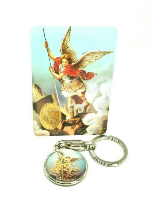 St Michael the Archangel Keyring