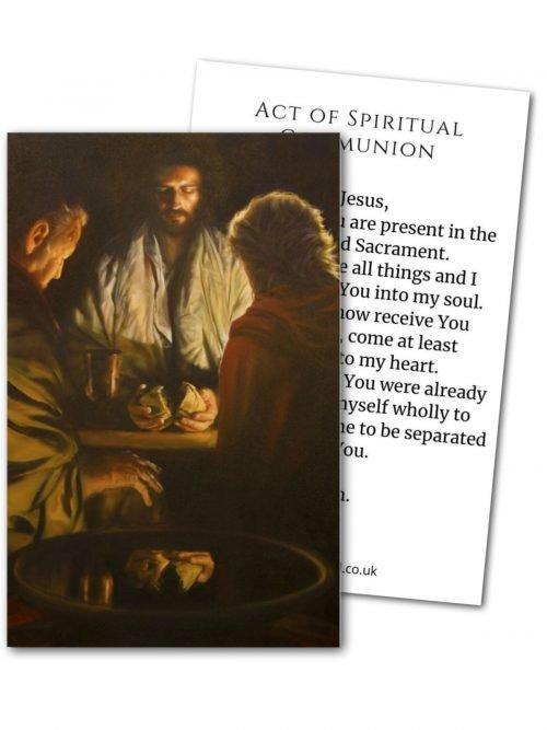Act of Spiritual Communion Cards