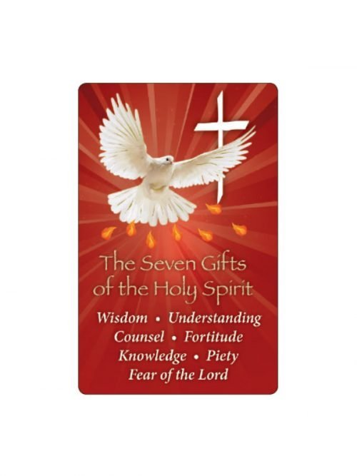 Gifts of the Holy Spirit Prayer Card
