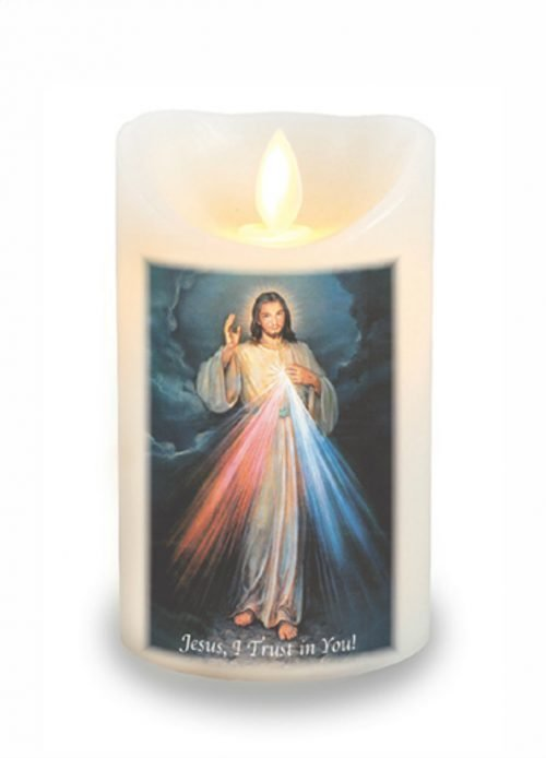 Divine Mercy LED Scented Candle