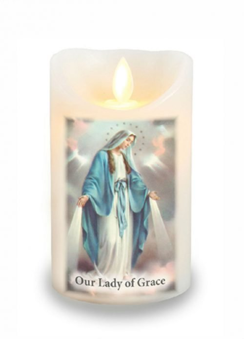 Miraculous Medal Scented Candle