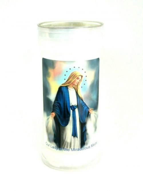 Miraculous Medal Candle